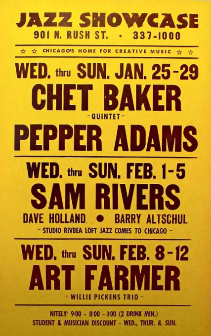 Sam Baker Trio at Folly Theater